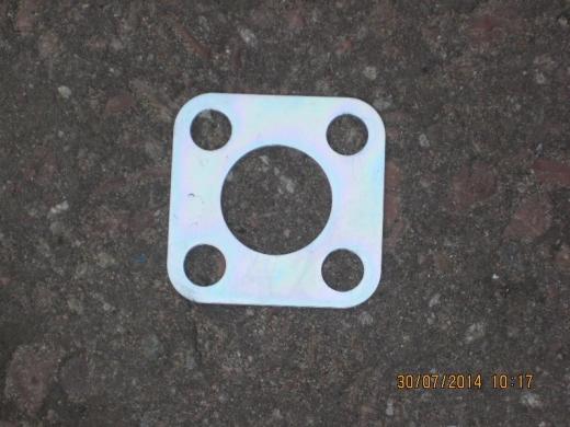 Пластина задняя вала привода ТНВД (маленькая)