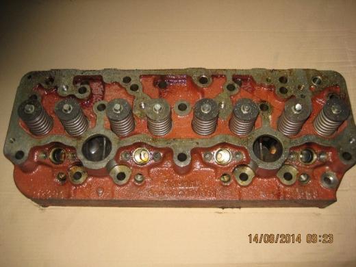Головка блока 245-1003012-Б1 (ЕВРО-2 под свечи накала) с клапанами