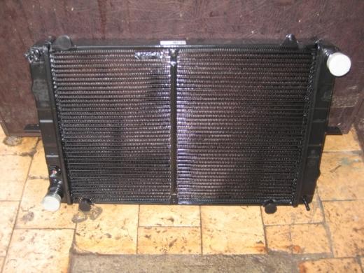 Радиатор  Газель (ст.обр.) Р330242-1301010-01 (2-ряд. CuproBraze ШААЗ, медный)