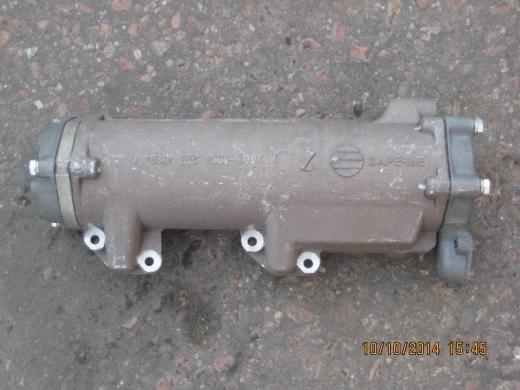 Теплообменник  (39 см с крышками) (замена с 740.11-1013200-10)