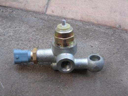 Клапан электромагнитный ТНВД в сборе с рампой