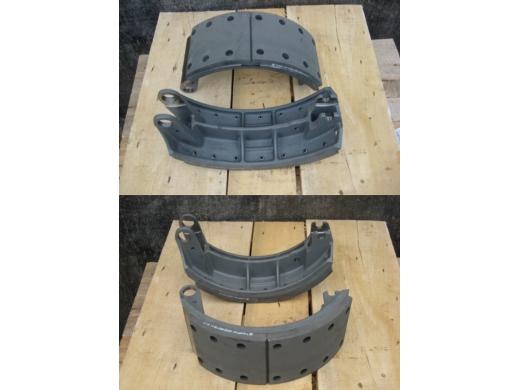 Колодка тормозная (литой корпус разные накладки)